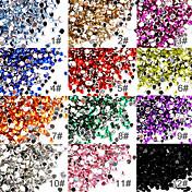 50 Joyería de uñas Flatbacks con descuento Abstracto Moda Alta calidad Diario