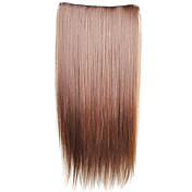 23 tommer (ca. 58cm) Hår extension Rett Klassisk Daglig Høy kvalitet Hairextensions med menneskehår