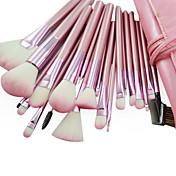 22 Sistemas de cepillo Pincel de Nylon / Pelo Sintético / Otros Rostro / Labio / Ojo