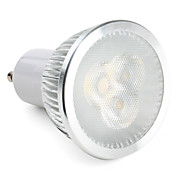 ZDM® 1pc 3W 270lm GU10 Focos LED 3 Cuentas LED LED de Alta Potencia Regulable Blanco Natural 220-240V