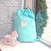 viajes de doble capa de ropa bolsa impermeable (Talla L)