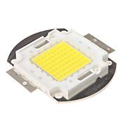 diy 70w 6000-7000lm 6000-6500k módulo integrado de luz blanca natural (33-35v)