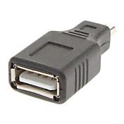 mikro USB til USB / A M / F Adapter