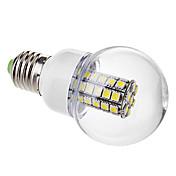 6000 lm E26/E27 LED-globepærer G60 47 leds SMD 5050 Varm hvit Kjølig hvit AC 220-240V
