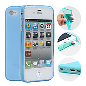 Funda Para iPhone 4/4S Apple Funda Trasera Suave TPU para iPhone 4s/4