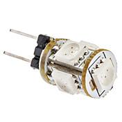 SENCART 1W 360-400 lm G4 Bombillas LED de Mazorca 5 leds SMD 5050 Rojo DC 12V AC 85-265V