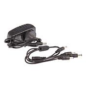 ac 100-240V DC 12V 2a strømledningen CCTV kamera strømadapter 1-4 for kamera