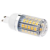 Bombillas LED de Mazorca T G9 6W 47 SMD 5050 470-510 LM Blanco Cálido AC 100-240 V