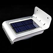 Al aire libre de la energía solar 16 LED del sensor de movimiento del detector de seguridad Jardín Lámparas Luz