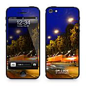 """El Código Da ™ Skin para el iPhone 4/4S: """"Champs Elysee de tráfico"""" (serie de la ciudad)"""