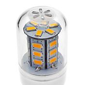 2W E14 G9 GU10 E26/E27 LED 콘 조명 T 24 LED가 SMD 5730 200-250lm 따뜻한 화이트 차가운 화이트 3000 AC 220-240