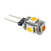 G4 LED 콘 조명 T 5 LED가 SMD 5050 따뜻한 화이트 70lm 3000K DC 12V