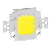 DIY 10W 820-900LM 900mA 6000-6500K fresco Módulo de luz blanca de LED integrado (9-12V)