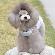 Gato / Perro Camiseta Ropa para Perro Corazón Gris Algodón Disfraz Para mascotas Verano Hombre / Mujer Casual / Diario
