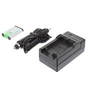 ismartdigi 소니 NP-BX1 (2PCS) 1240mah, SONY RX100/RX100II/RX1/RX1R/GWP88E을위한 3.7V 카메라 배터리 + 차량용 충전기