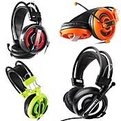 007 Hodetelefoner (hodebånd) Hodetelefoner Bevegelig Spole Plast øretelefon Headset