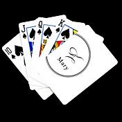 개인 선물 화이트 서명 스타일의 플레이 카드