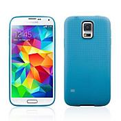 Color de la caja del silicio de Solid Classic para Samsung S5 (Assortd color)