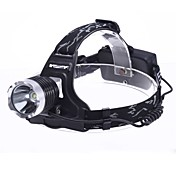 Linternas de Cabeza Faro Delantero LED 1800 lm 3 Modo - Camping/Senderismo/Cuevas
