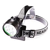 헤드램프 LED 5000 루멘 3 모드 Cree XM-L T6 조절가능한 초점 방수 용 캠핑/등산/동굴탐험 일상용 사이클링 사냥 여행 일 멀티기능 등산 낚시
