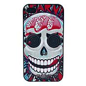La lengua Skull Patrón duro para el iPhone 4/4S