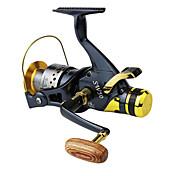 Fiskesneller Spinne-hjul 5.2:1 Gear Forhold+10 Kulelager Hånd Orientering Byttbar Venstrehendt Høyre-Handed Søfisking Agn Kasting Spinne