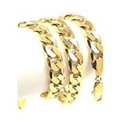 Hombre Mujer Oro Legierung Collares de cadena - Oro Legierung Vintage Otros Gargantillas Para Fiesta