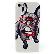 Etui Til iPhone 7 Plus iPhone 7 iPhone 5 Apple Etui iPhone 5 Mønster Bakdeksel Hund Hard PC til iPhone 7 Plus iPhone 7 iPhone SE/5s