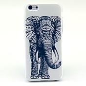 Patrón de elefante Animal duro caso para iPhone 5C