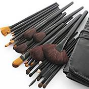 32pcs Sistemas de cepillo Pelo Sintético / Pincel de Poni / Pincel de Pelo de Cabra / Caballo Rostro / Labio / Ojo