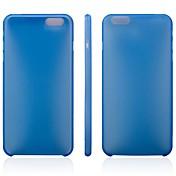 cubierta suave ultrafina pp para el iphone 6 más (colores surtidos)