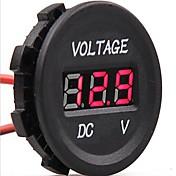 DC 12V-24V bil digital ledet spenning elektrisk volt meter monitor indikator tester