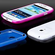 Para Funda Samsung Galaxy Ultrafina / Congelada / Traslúcido Funda Cubierta Trasera Funda Un Color Policarbonato Samsung S3 Mini