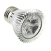 220 lm E26/E27 Focos LED MR16 3 leds LED de Alta Potencia Blanco Fresco AC 85-265V