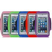 deporte corriendo titular brazalete bolsa cubierta de la caja del brazal para el iphone 5 5s 5c (colores surtidos)