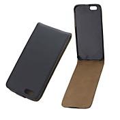 솔리드 컬러 PU 가죽 전체 바디 커버와 아이폰 6에 대한 카드 슬롯