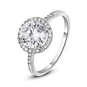 여성 문자 반지 클래식 의상 보석 크리스탈 도금 골드 모조 다이아몬드 보석류 제품 결혼식 파티 일상 캐쥬얼