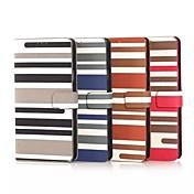 Para Samsung Galaxy Note Soporte de Coche / con Soporte / Flip / Diseños Funda Cuerpo Entero Funda Líneas / Olas Cuero Sintético Samsung