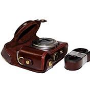 la cámara de protección de cuero dengpin® cubierta de la bolsa caso de la correa de hombro para Sony DSC-HX50 hx50v hx60 HX30 HX10 LCJ-HN