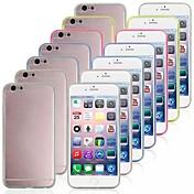 Para Funda iPhone 6 / Funda iPhone 6 Plus Transparente Funda Cubierta Trasera Funda Gradiente de Color Suave TPUiPhone 6s Plus/6 Plus /