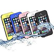 Multi-function Waterproof 10M SnowProof DirtProof Case For iPhone 5 (Assorted Color)