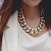 Mujer Collares de cadena Legierung Moda Dorado Plata Joyas Ocasión especial Cumpleaños