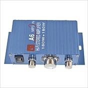 amplificador estéreo a6 180w de alta fidelidad para coche / moto-azul