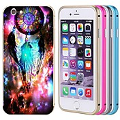 Para Funda iPhone 6 / Funda iPhone 6 Plus Diseños Funda Cubierta Trasera Funda Armadura Dura Metal iPhone 6s Plus/6 Plus / iPhone 6s/6