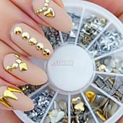 1 Joyería de uñas Kits de decoración Moda Punk Alta calidad Diario