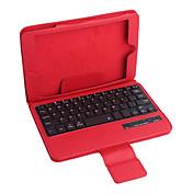 pu estuche de cuero w teclado / Bluetooth para el iPad mini-3 ipad mini mini ipad 2