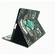 Funda Para iPad 4/3/2 con Soporte Funda de Cuerpo Entero Animal Cuero de PU para iPad 4/3/2