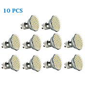 3W 300-350 lm GU10 LED-spotpærer 60 leds SMD 3528 Varm hvit Kjølig hvit AC 220-240V