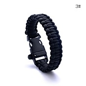 lureme® paracord supervivencia de escape para cable de pulsera de silbato