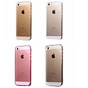 Etui Til Apple iPhone 8 iPhone 8 Plus Etui iPhone 5 iPhone 6 iPhone 6 Plus iPhone 7 Plus iPhone 7 Ultratynn Gjennomsiktig Bakdeksel